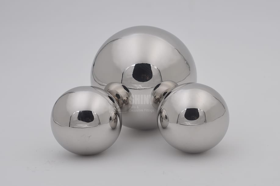Decorative Hollow Stainless Steel Balls For Garden Ornaments