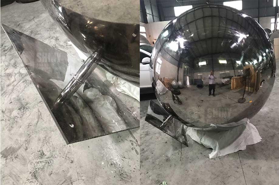 Genial 1800mm Large Stainless Steel Garden Spheres