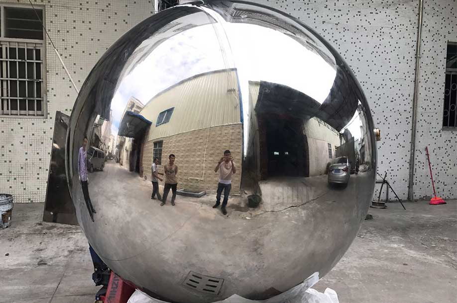 1800mm Large Stainless Steel Garden Spheres