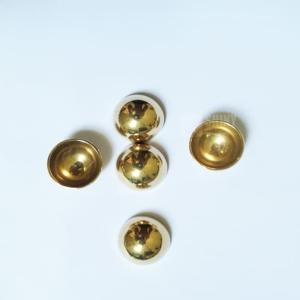 Brass Hemispheres Brass Half Balls Shiny Balls Ltd